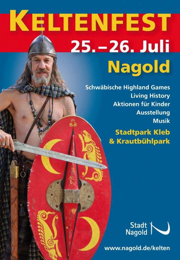 Nagolder Keltenfest -Plakat (klein)