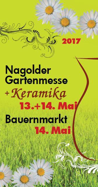 Flyer Gartenmesse 2017