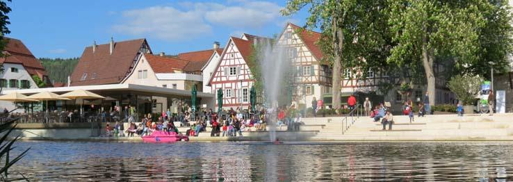 Longwyplatz in Nagold