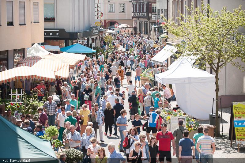 Blick in die Marktstraße