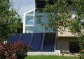 Photovoltaikanlage im Garten