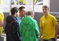 Schüler informieren sich über Ausbildungsberufe