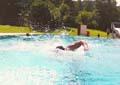 Schwimmen für einen guten Zweck