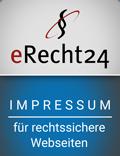 E-Recht24 Siegel Impressum
