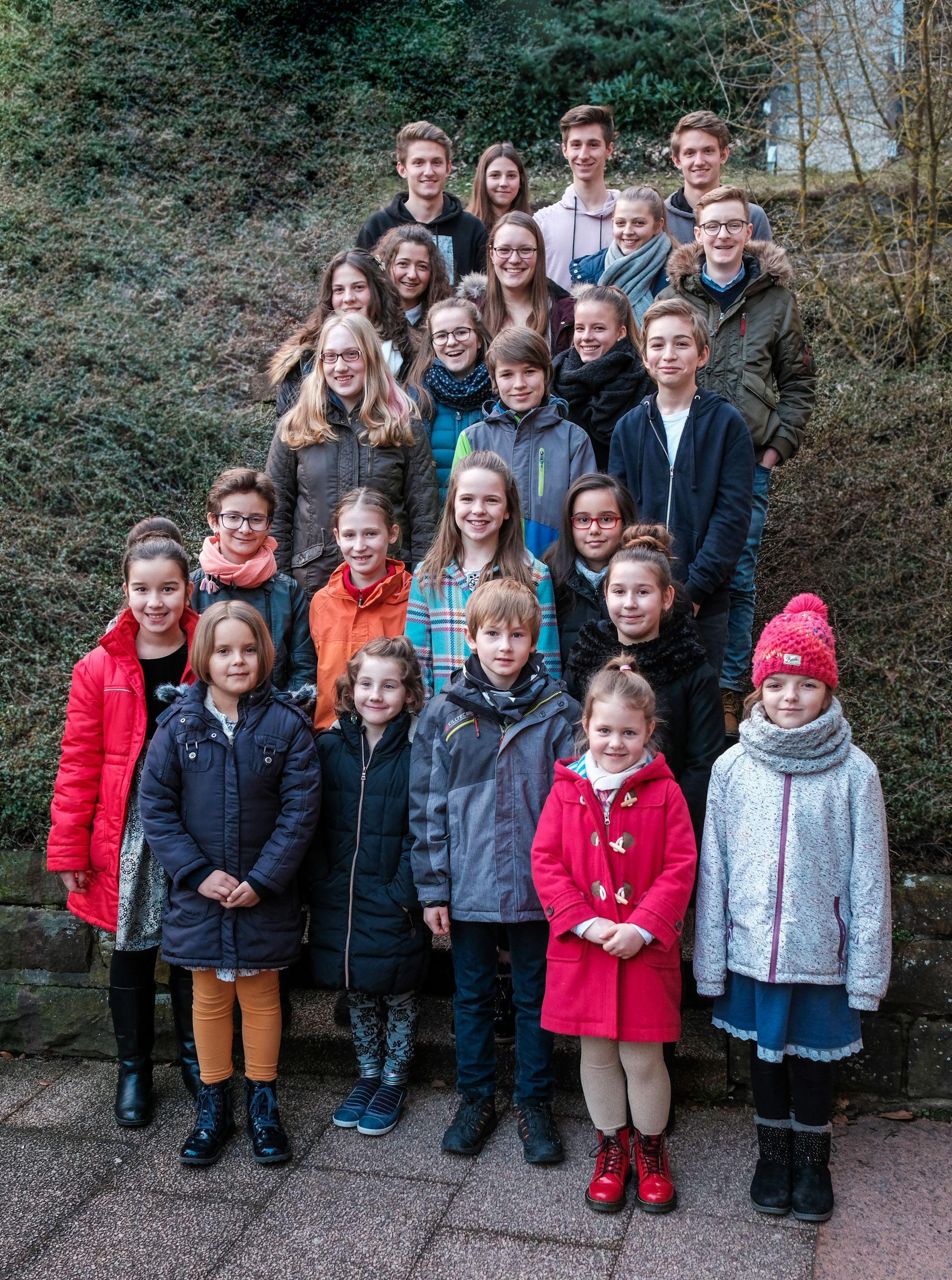 Preisträger Jugend musiziert 2018 in Freudenstadt