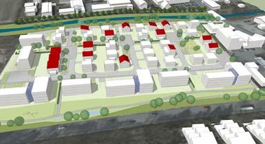 Visualisierung Baugebiet Hasenbrunnen
