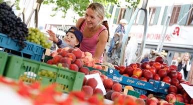 Wochenmarkt in Nagold