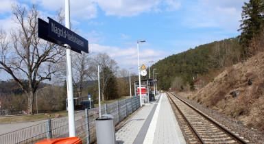 Bahnhaltepunkt Iselshausen
