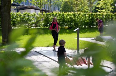 Minigolf im Stadtpark Kleb