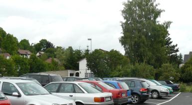 Parkplatzanlage Neuwiesenweg in Nagold