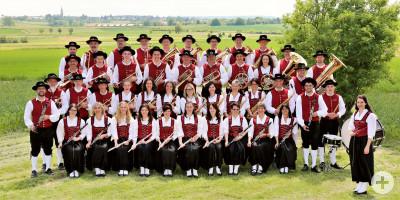 Bild der Vollmaringer Musikanten