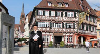Lutherführung mit Stadtführer Helmut Luckert