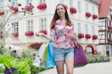 Shopping in Nagold
