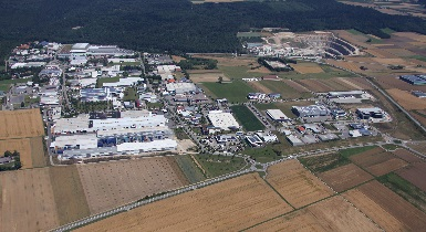 Luftbild vom Wolfsberg