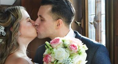 Brautpaar im Trauzimmer