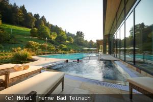 Außenbecken der Mineraltherme Bad Teinach
