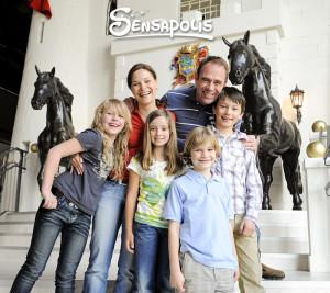 Familie im Sensapolis