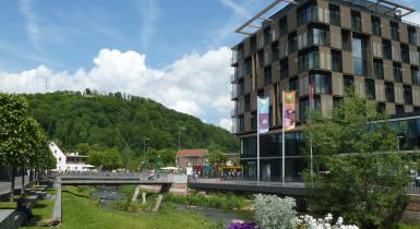 Foto Hotel Ibis mit Waldachansicht