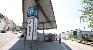 Parkhaus Innenstadt Ost