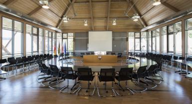 Sitzungssaal im Rathaus