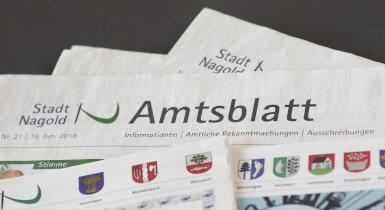 Amtsblatt Nagold und Mitteilungsblätter