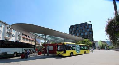 Zentraler Busbahnhof in Nagold (ZOB)