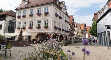 Rathaus in der Marktstraße