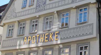 Schmidsche Apotheke in der Marktstraße