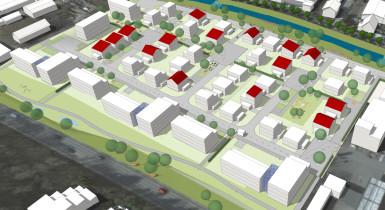 Visualisierung Baugebiet Hasenbrunnen Teil 2