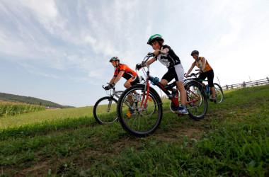 Fahrradfahren in Nagold