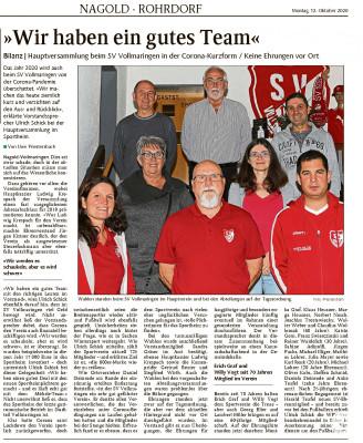 Schwabo Bericht Mitgliederversammlung SVV 2020