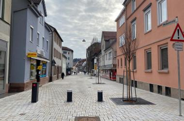 Ansicht Waldachstraße nach Sanierung