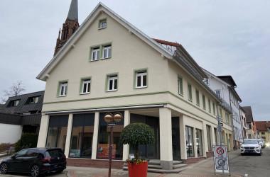 Gebäude Bahnhofstraße 14 nach Sanierung