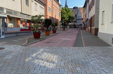 Ansicht Waldachstraße vor Sanierung