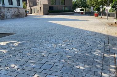 Ansicht Longwyplatz nach Sanierung