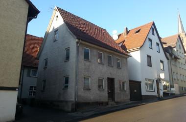 Gebäude Neue Straße 5, Ansicht vor Abbruch