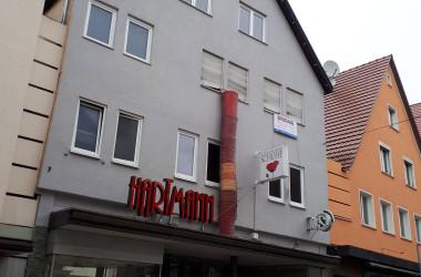 Gebäude Bahnhofstraße 7, Ansicht vor Sanierung