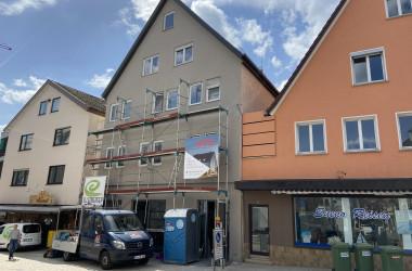 Baustelle Bahnhofstraße 7, Nagold