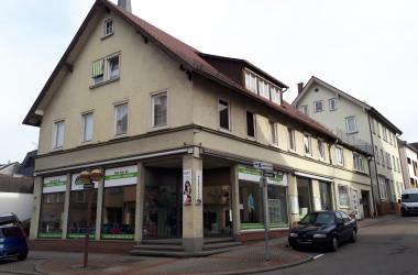 Gebäude Bahnhofstraße 14, Ansicht vor Sanierung