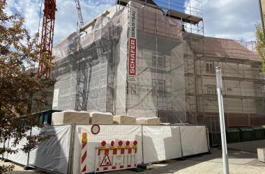 Baustelle Bahnhofstraße 2