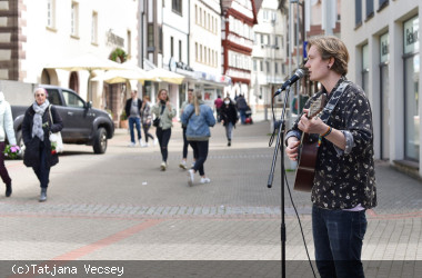 Musik in der Stadt - Joris Rose in der Turmstraße
