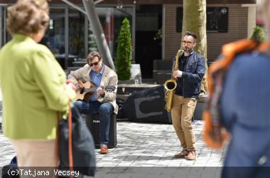Musik in der Stadt - Mellow Wood am Vorstadtplatz