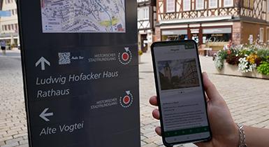Audio-Tour durch die historische Altstadt Nagolds