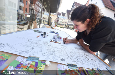 Kunst in der Stadt - Ilona Trimmbacher