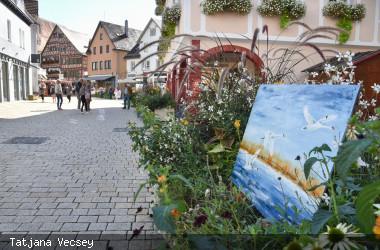 Kunst in der Stadt - Blumenswing