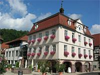 Gebäude des Rathauses