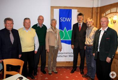Neu gewählter SDW-Vorstand