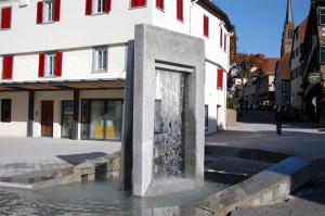 Brunnen von der Eisdiele