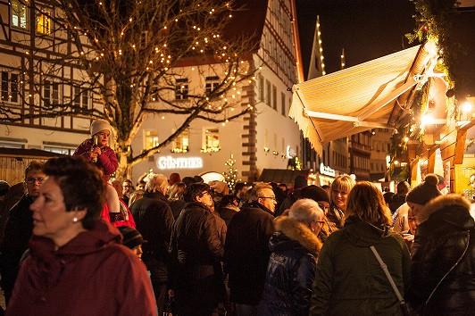 Weihnachtsmarkt Stände