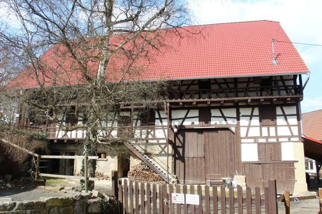 Obere Mühle - Scheune